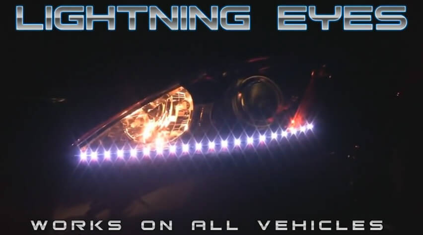PlasmaGlow Breathing Lightning Eyes LED Headlight Kit