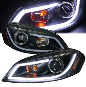 Spec-D LED Strip Projector Headlights