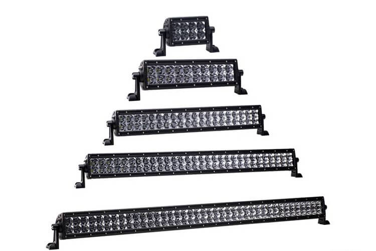 Rigid E-Series LED Light Bar all sizes