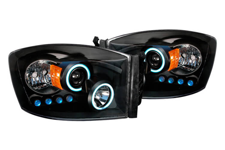 Spec-d Halo Headlights
