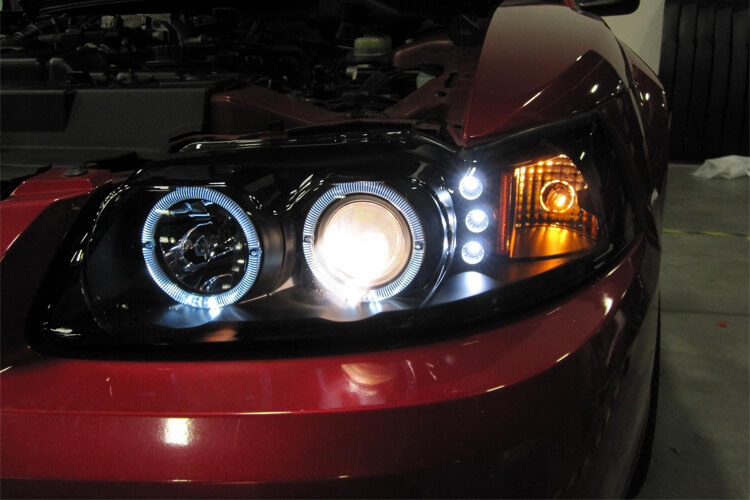 Spec-D Halo Headlights Installed
